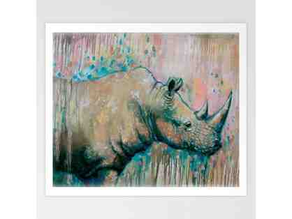 African Animal Canvas Prints