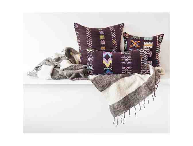 Highland Package - Mayan Pillows and Blanket - Photo 1