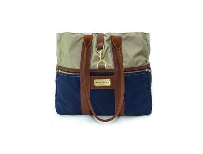 Blue Signature Tote Bag - Photo 1