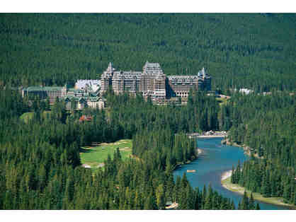 Castle in the Rockies, Alberta--> Airfare+5 Days Hotel+B'ast+Tax for two