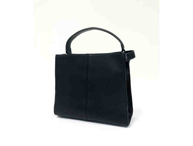 Estelle Bow Clutch - Black - Photo 1