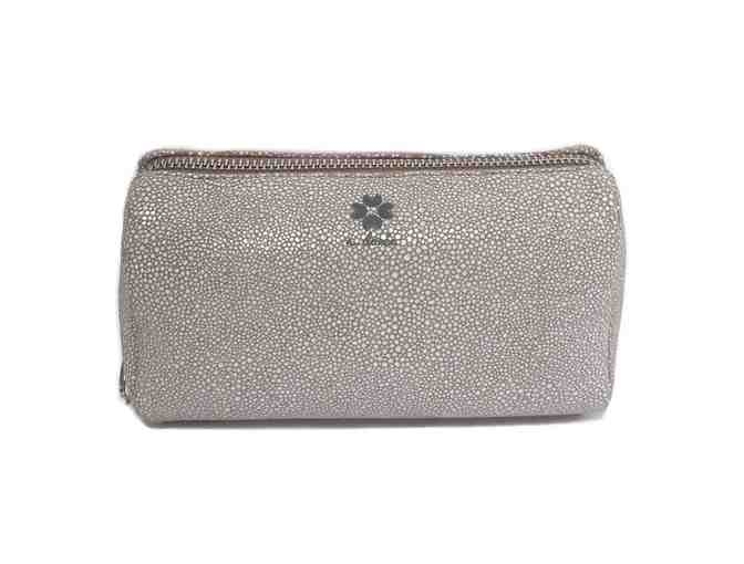 Fay Makeup Case - Gray White - Photo 1