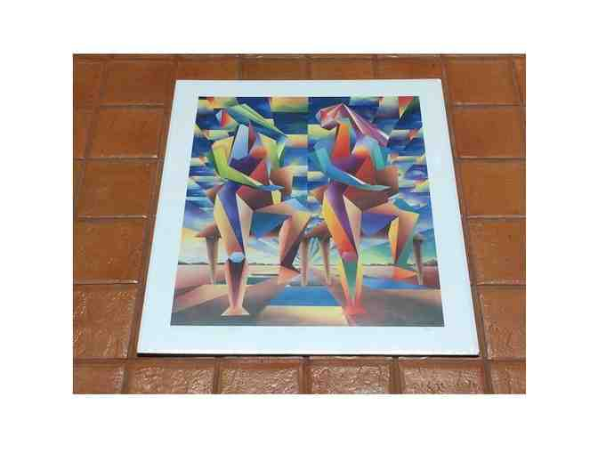 1994 AJ Thijssens Reflections Artist Proof Autographed and Numbered