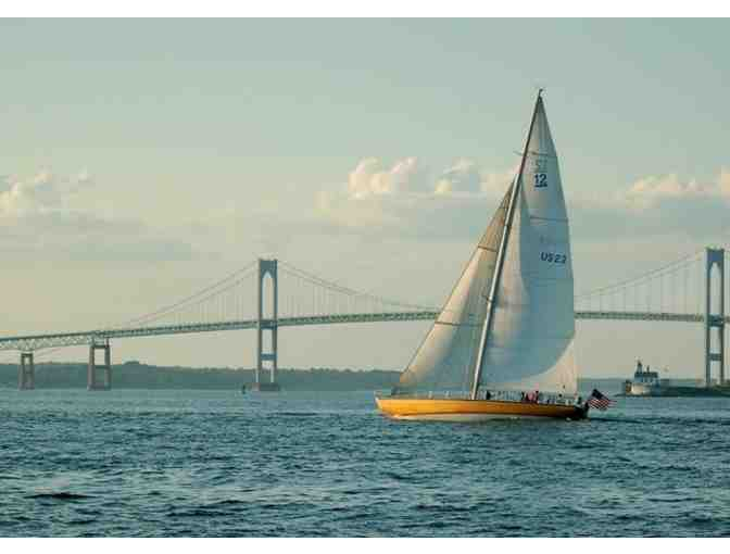 2 tickets for a 2 hour Sail plus Souvenirs aboard America's Cup Yacht in Newport, RI