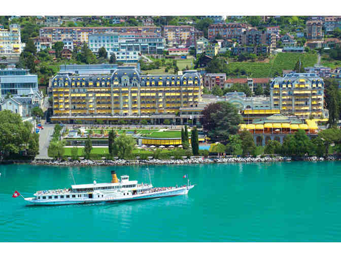 Along the Swiss Shores of Lake Geneva, Montreux
