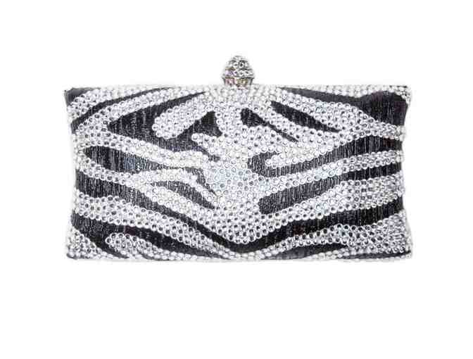 Animal Instinct Clutch Black Metallic - Photo 1