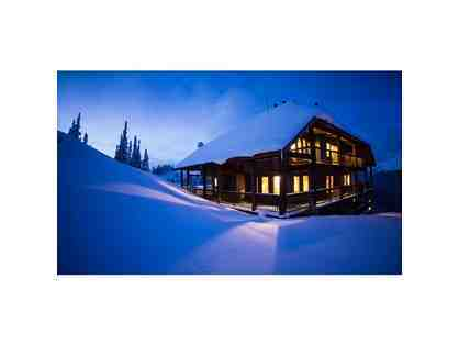 Backcountry Lodge British Columbia  --> 4-Night Stay