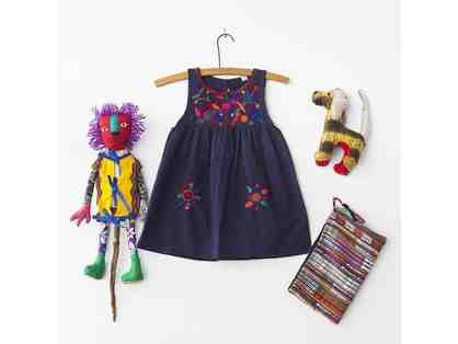 GLOBAL Children's Package - Navy Dress