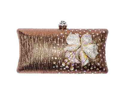Orchid Clutch Bronze