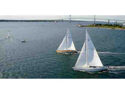 2 tickets for a 3 hour America's Cup 12 Meter Racing Experience in Newport, Rhode Island