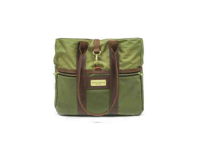 Green Signature Tote Bag - Photo 1
