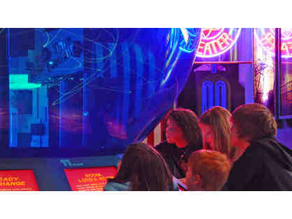 (New) American Museum of Science & Energy (Oak Ridge, TN): Four tickets  (Code: 0000)