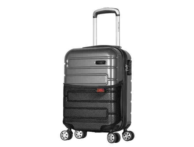 "Olympia Nema 18"" Under the Seat Carry-On Black - Photo 1"