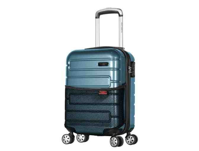 "Olympia Nema 18"" Under the Seat Carry-On Teal - Photo 1"