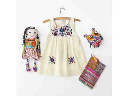 GLOBAL Children's Package - Cream Dress