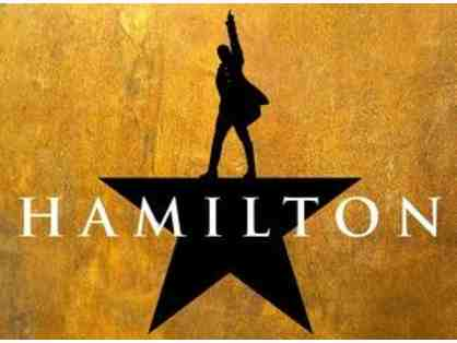 Hamilton on Broadway in NYC for Two with Hotel