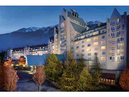Modern Alpine Escape, British Columbia --> 5 days for two+ taxes+B'fast+$500 Fairmont Card