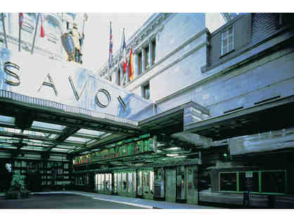 Stay at the Most Iconic London Hotel - The Savoy, London