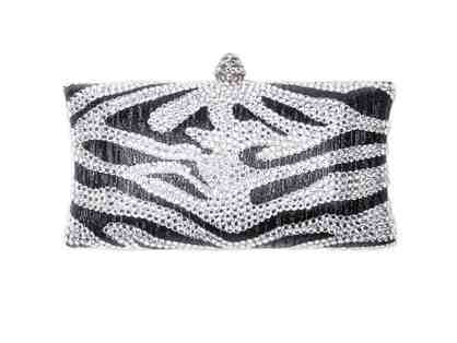 Animal Instinct Clutch Black Metallic