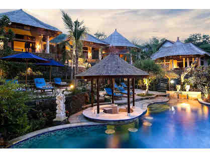 Bali's Exotic Indonesian Escape-->8 Days for 2: Jepun Villas+Scuba Diving Lessons+Massages