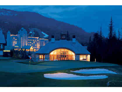 Magnificent Alpine Resort, British Columbia: Five Days for 2 --> Fairmont Chateau Whistler