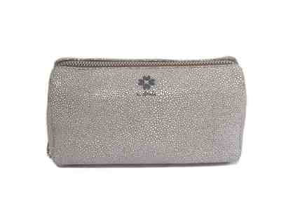 Fay Makeup Case - Gray White