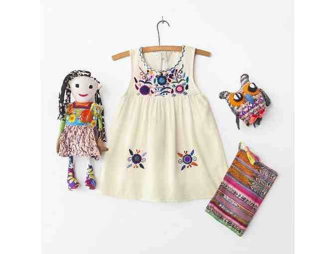 GLOBAL Children's Package - Cream Dress - Photo 1