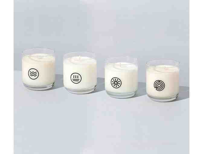 The Collection - set of 4 candles in four signature fragrances - Photo 1