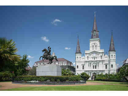 Beignets, Ghosts and Spirits, New Orleans: 4 Days for two: Hotel + Airfare + Tours