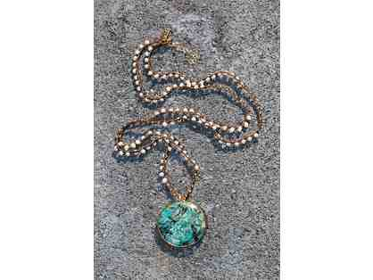 Chrysocolla Bardot Necklace