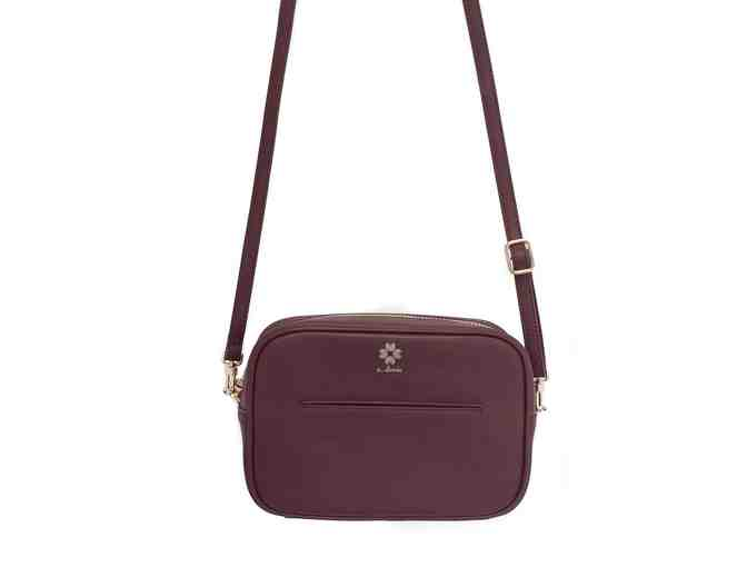 Elodie Crossbody Bag - Burgundy - Photo 1
