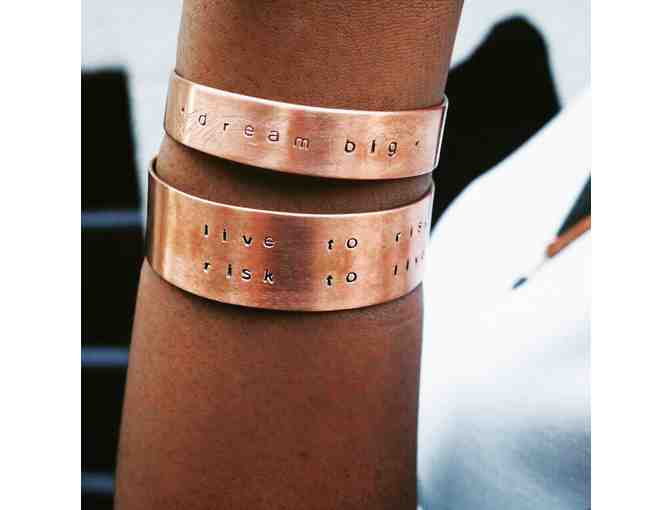 Copper Cuff from Ad Astra Brooklyn