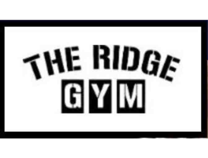 The Ridge Gym - Gift Certificate