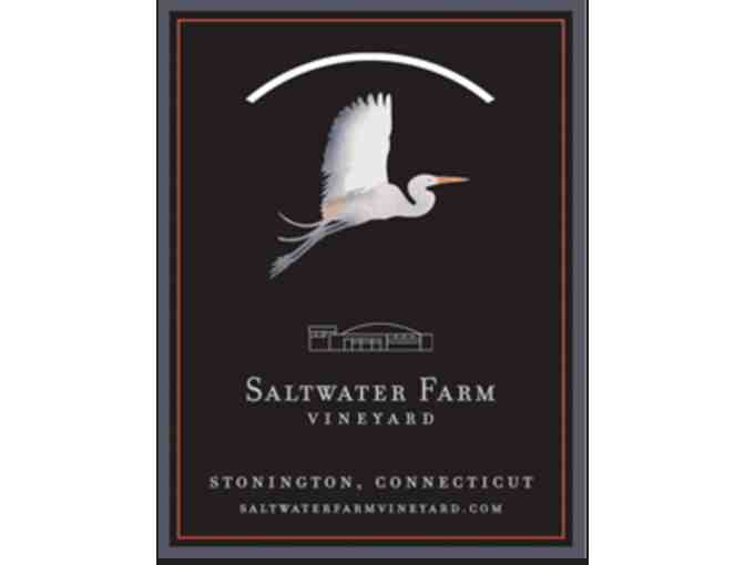 Saltwater Farm Vineyard Wine Tasting for 4