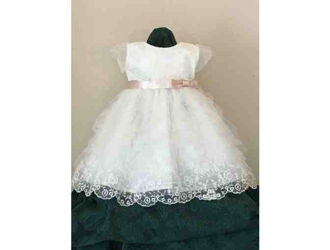 Lace & Tulle Special Occassion Dress - size 12 mos. - from Blue Horse Children's Shop