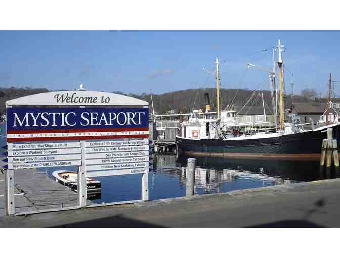 2 Guest Passes to Mystic Seaport