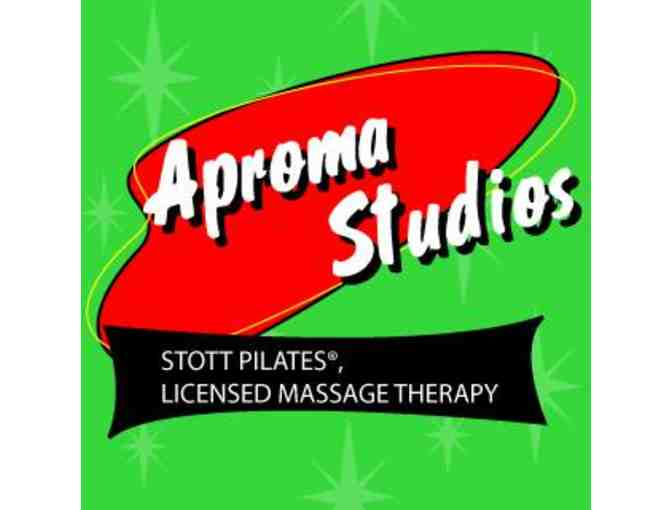 One hour massage therapy at Aproma Studios
