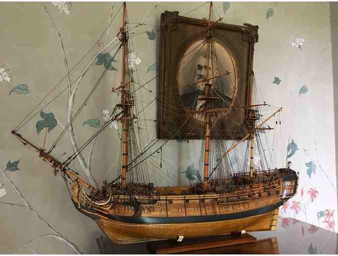 'Centurion' Model Ship handcrafted by Alan Burghardt