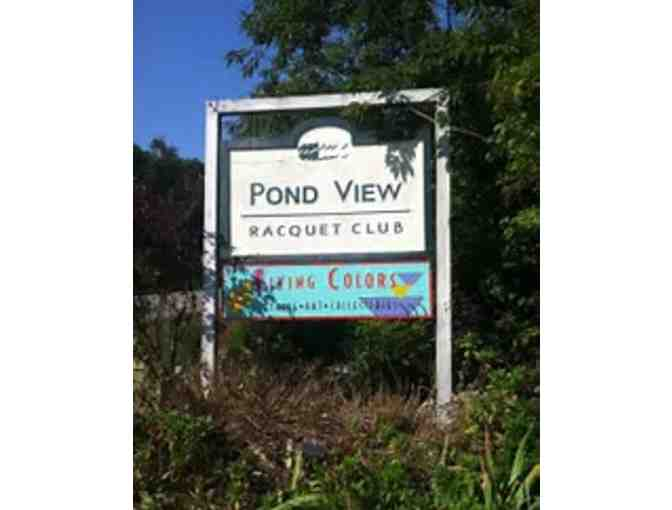 $75 towards any form of Membership at Pond View Racquet & Paddle Club in Westerly - Photo 1