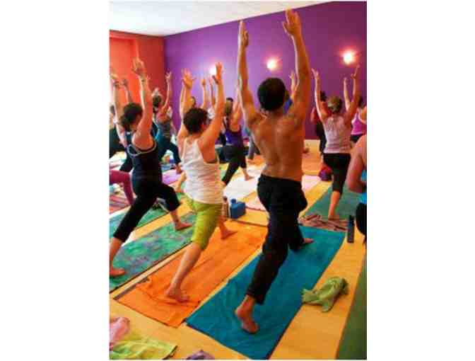 One month of unlimited classes at Mystic Yoga Shala