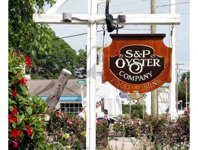 S & P Oyster Co. $100 Gift Certificate