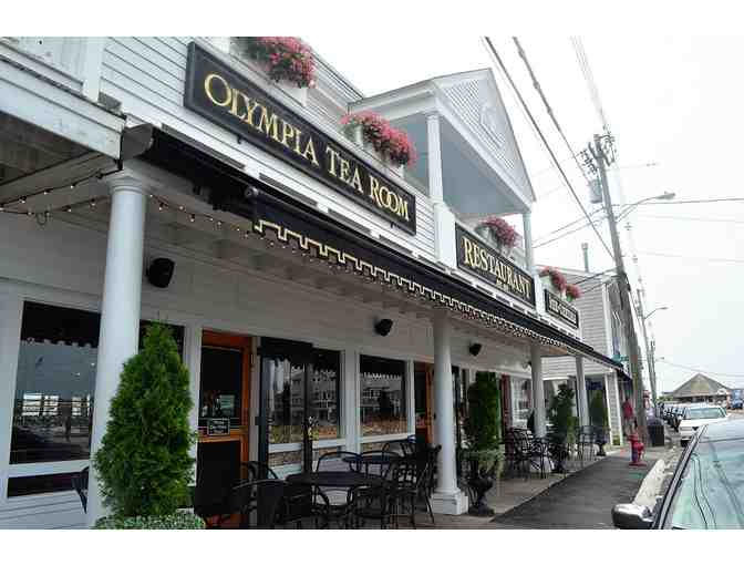 Olympia Tea Room, Watch Hill, $100 Gift Certificate