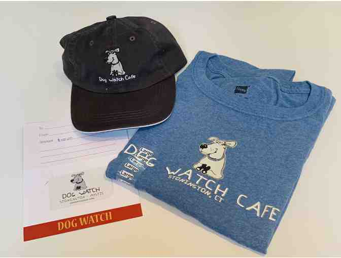 $50 Gift Certificate, T-Shirt and Hat from Dog Watch Cafe/Dog Watch Mystic - Photo 1