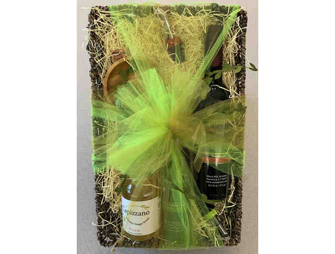 Basket of Goodies from Capizzano Olive Oils and Vinegars