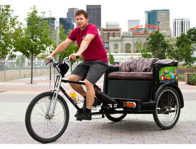 Trishaw Ride for Two along the Mary Carter Greenway & Hudson Gardens