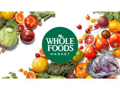 2 $50 Whole Foods Gift Cards