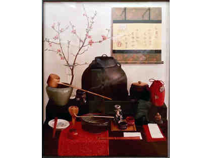 Japanese Still Life, Photograph of Painting by Fran Beallor