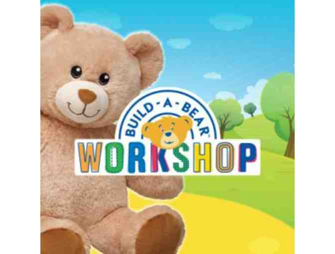 Build A Bear Party and Pizza