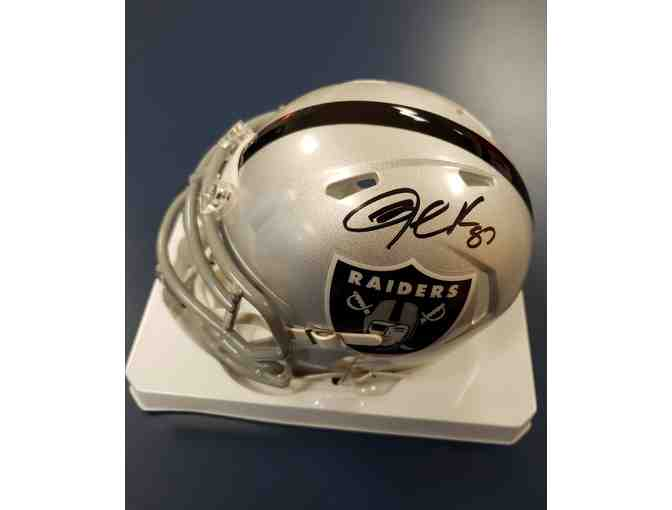 Jared Cook Autographed Mini Helmet