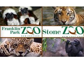 Zoo New England Family Four Pack